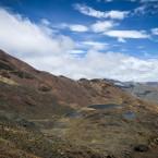 Vista desde el sitio de Chacaltaya.
