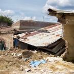 Casa destruida por el agua, Barrio Providencia (Leny Olivera)